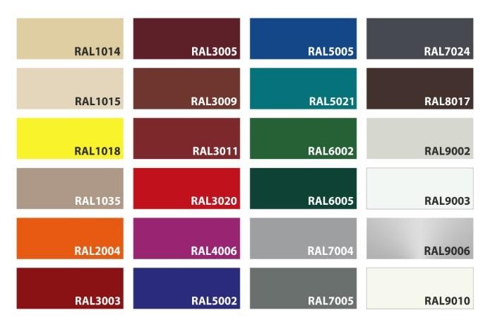 Новые оттенки для ярких идей – расширена цветовая палитра перегрузочного тамбура
